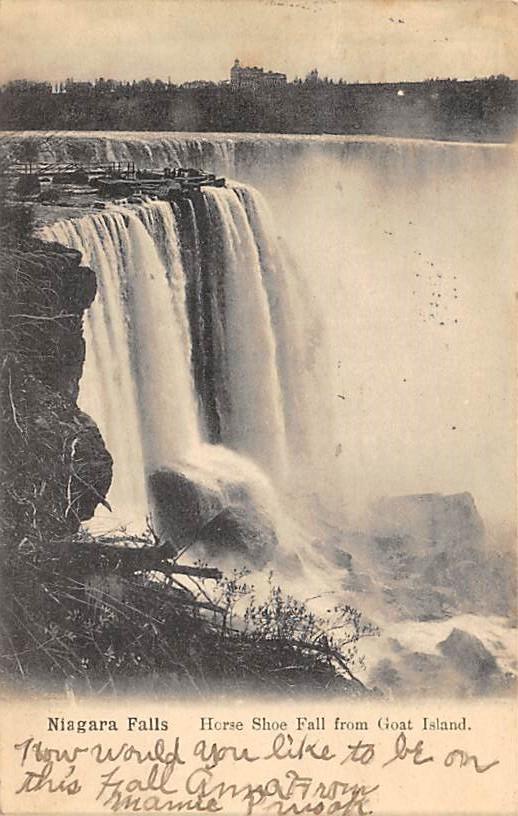 sub056337 - Niagara Falls Post Card