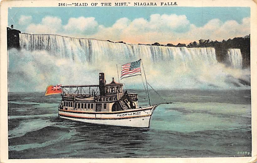 sub056349 - Niagara Falls Post Card