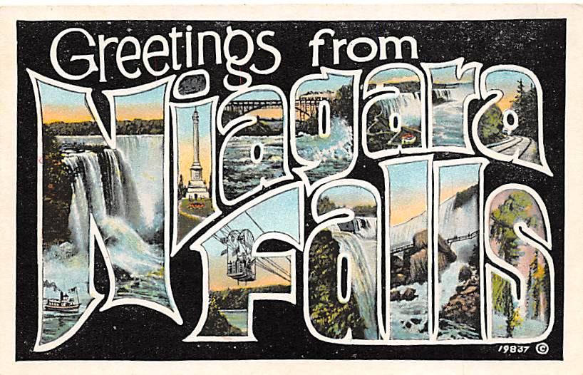 sub056363 - Niagara Falls Post Card