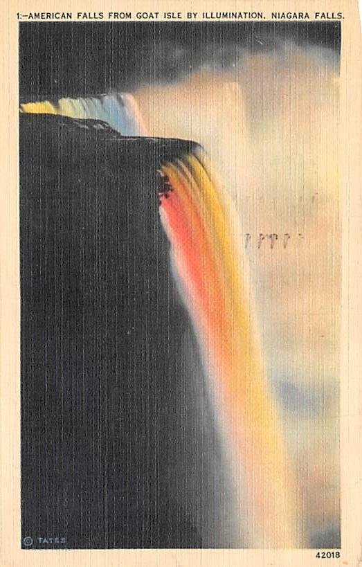 sub056365 - Niagara Falls Post Card