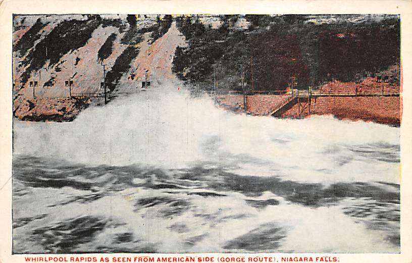 sub056375 - Niagara Falls Post Card
