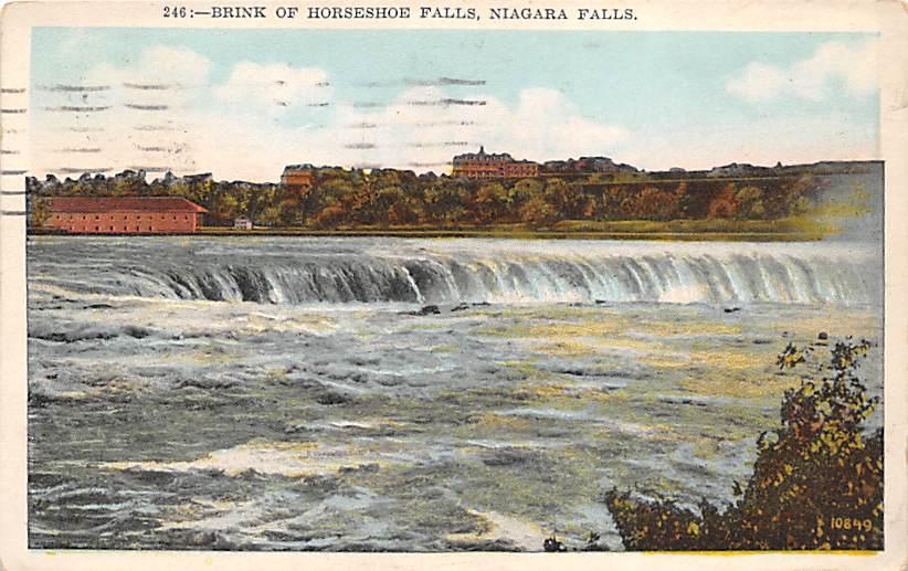 sub056377 - Niagara Falls Post Card
