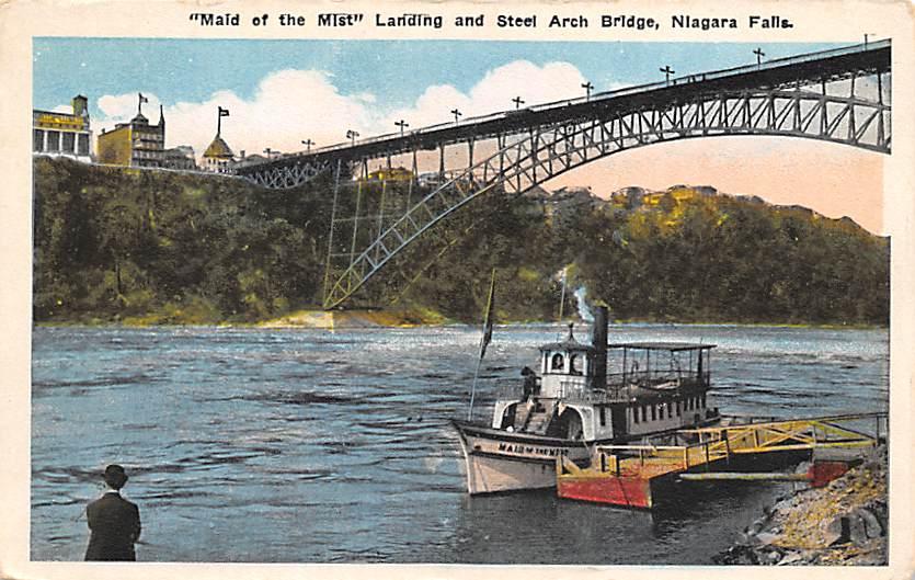 sub056393 - Niagara Falls Post Card