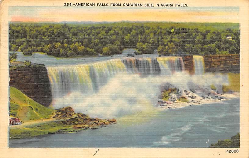 sub056395 - Niagara Falls Post Card