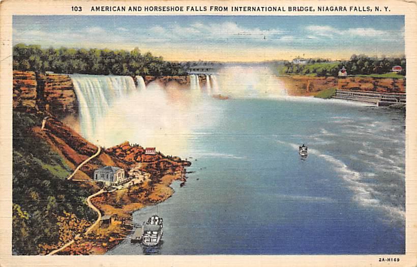 sub056397 - Niagara Falls Post Card