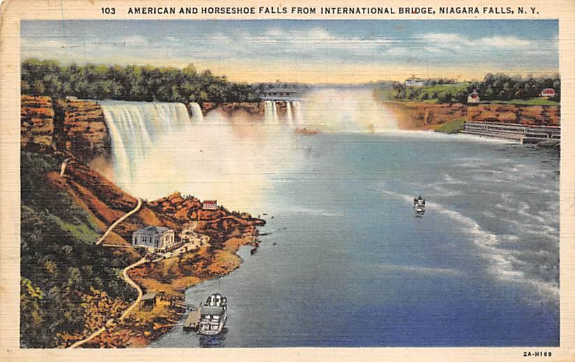 sub056403 - Niagara Falls Post Card