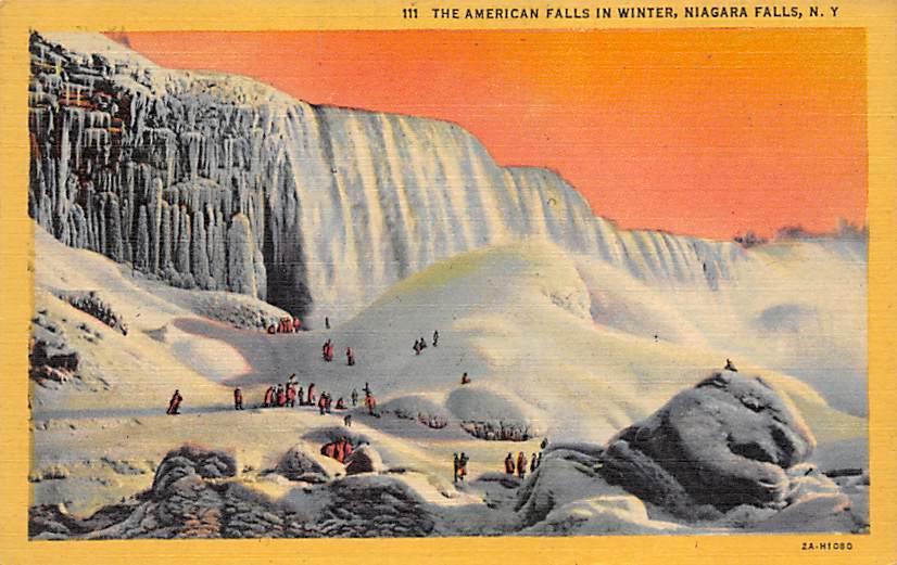 sub056405 - Niagara Falls Post Card