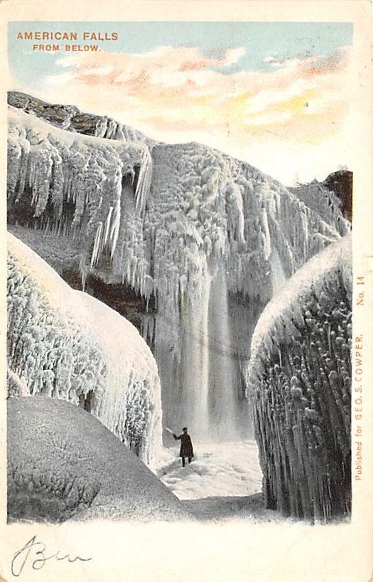 sub056407 - Niagara Falls Post Card
