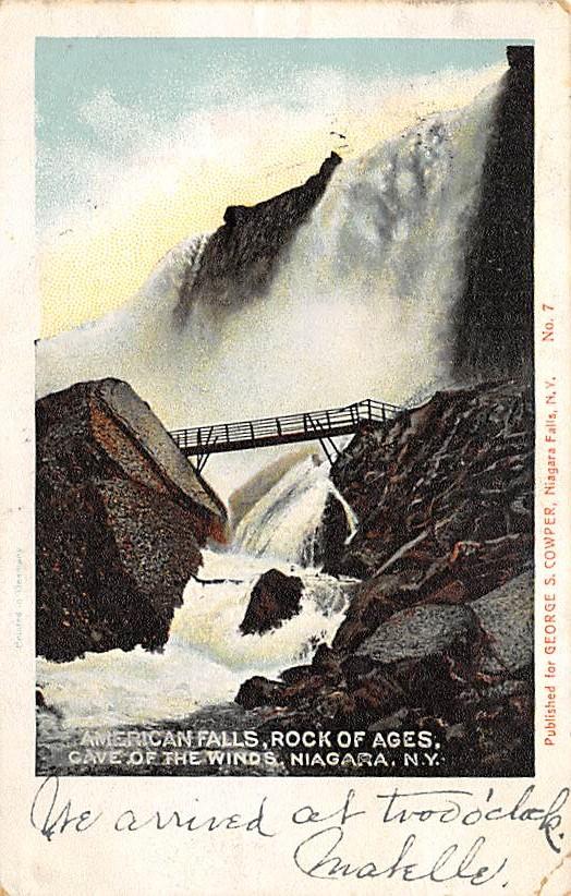 sub056409 - Niagara Falls Post Card