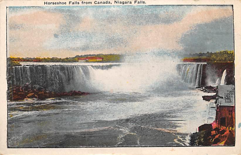 sub056411 - Niagara Falls Post Card