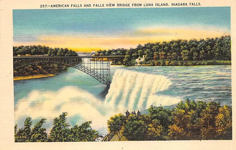 sub056415 - Niagara Falls Post Card