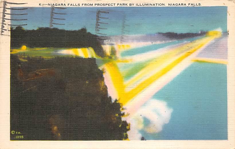 sub056427 - Niagara Falls Post Card