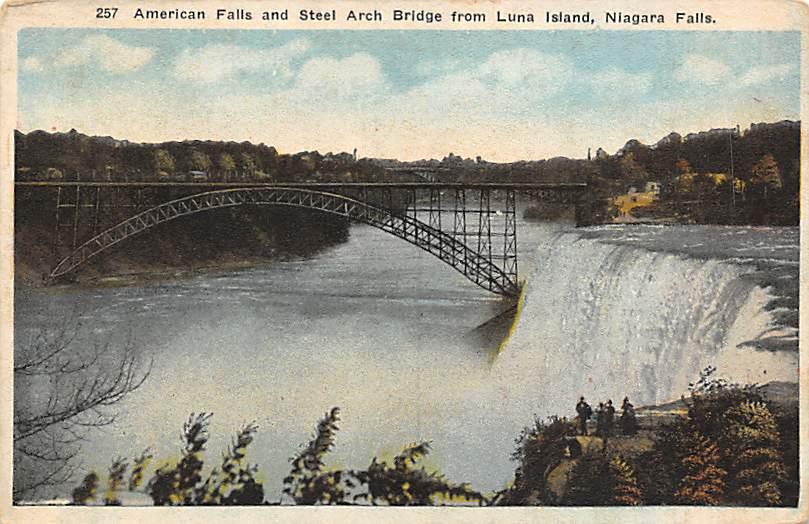 sub056431 - Niagara Falls Post Card
