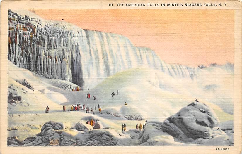 sub056447 - Niagara Falls Post Card