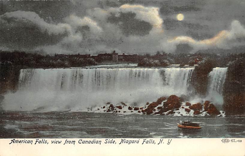 sub056457 - Niagara Falls Post Card
