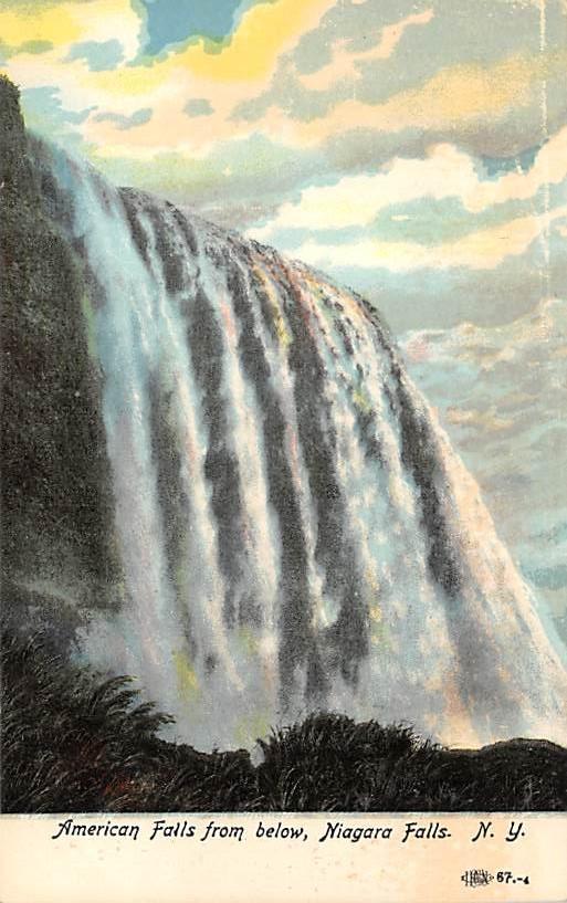 sub056459 - Niagara Falls Post Card