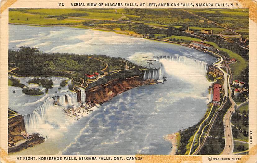 sub056471 - Niagara Falls Post Card