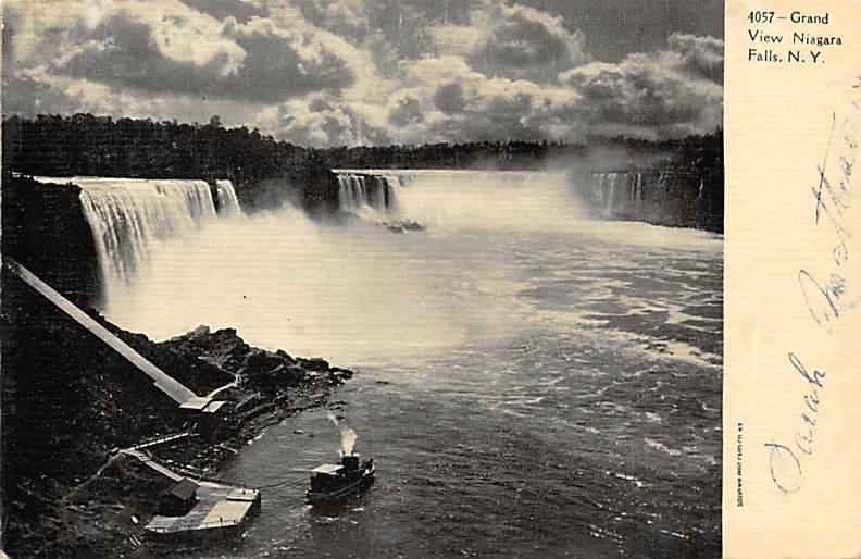 sub056479 - Niagara Falls Post Card