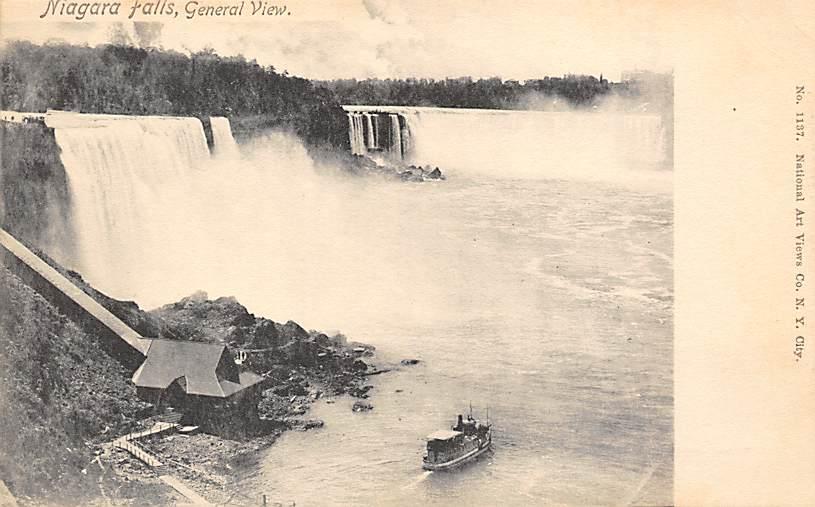 sub056481 - Niagara Falls Post Card