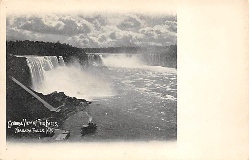 sub056483 - Niagara Falls Post Card