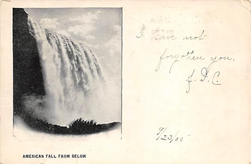 sub056485 - Niagara Falls Post Card