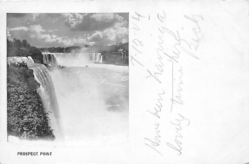 sub056489 - Niagara Falls Post Card