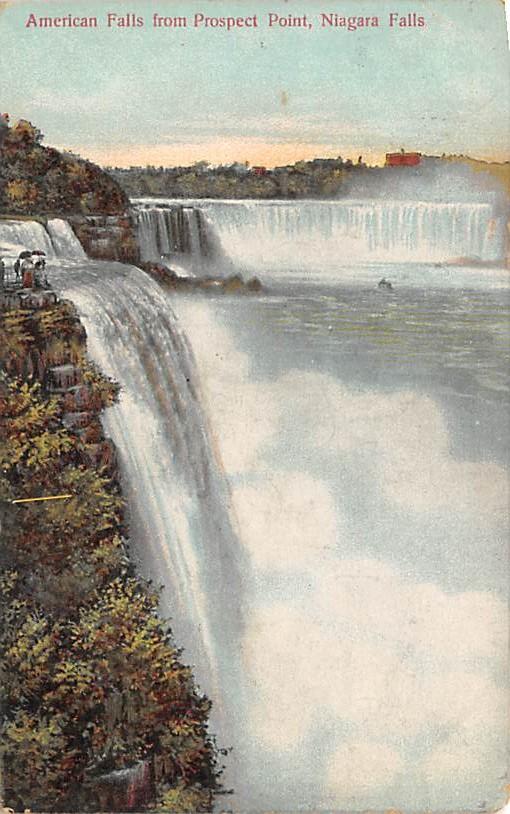 sub056495 - Niagara Falls Post Card