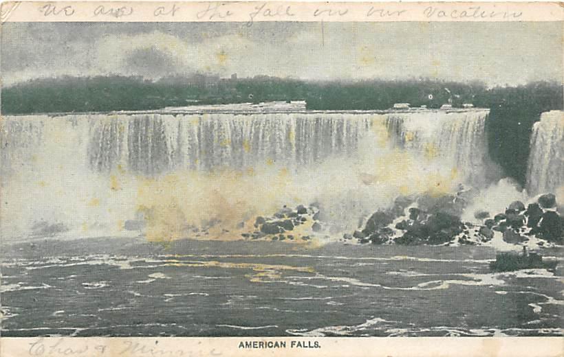 sub056497 - Niagara Falls Post Card
