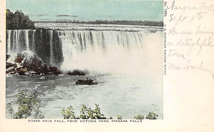 sub056499 - Niagara Falls Post Card