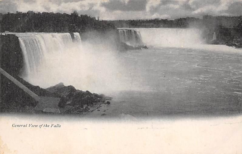 sub056501 - Niagara Falls Post Card