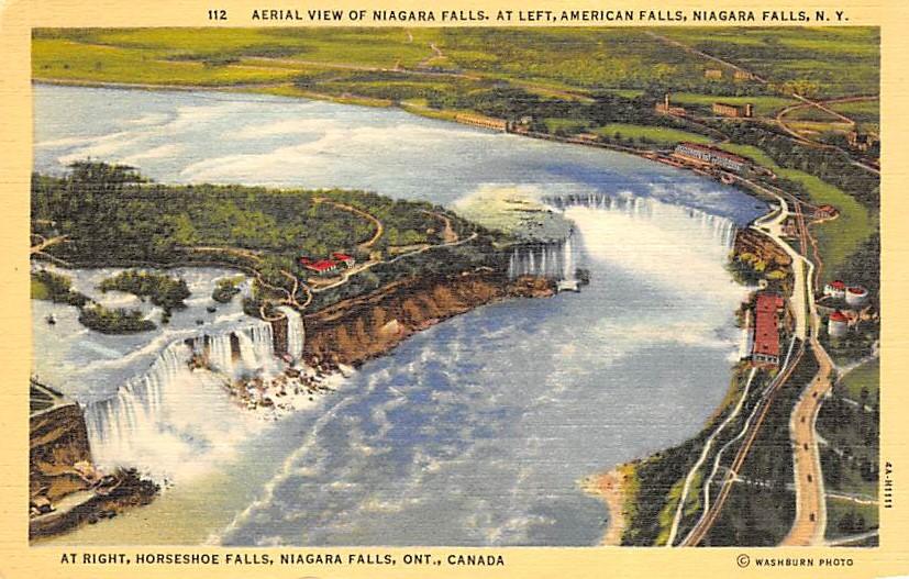 sub056509 - Niagara Falls Post Card