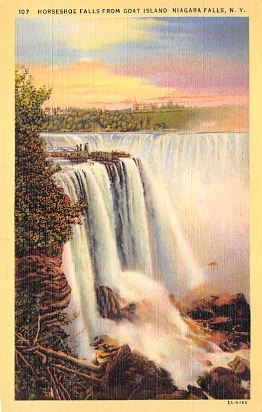 sub056511 - Niagara Falls Post Card