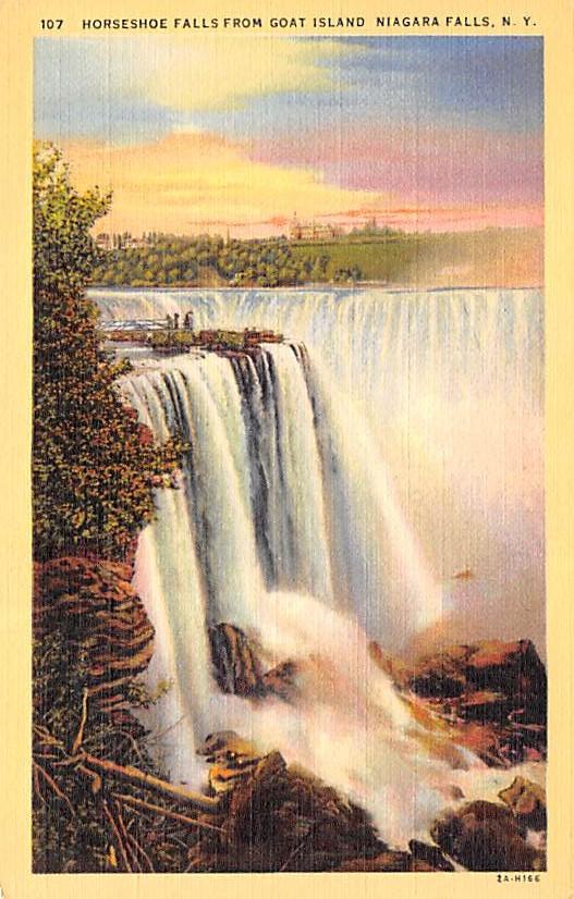 sub056513 - Niagara Falls Post Card
