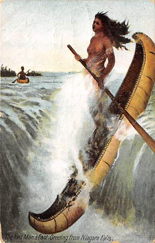 sub056521 - Niagara Falls Post Card