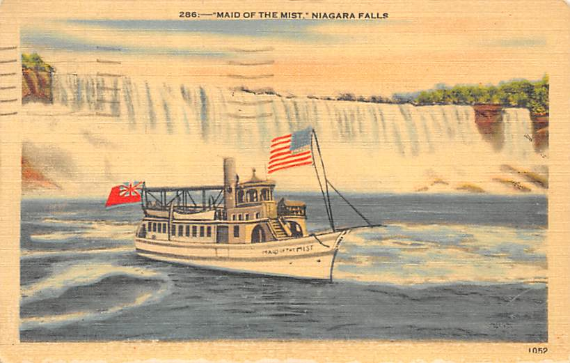 sub056523 - Niagara Falls Post Card