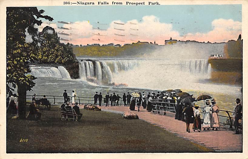 sub056533 - Niagara Falls Post Card