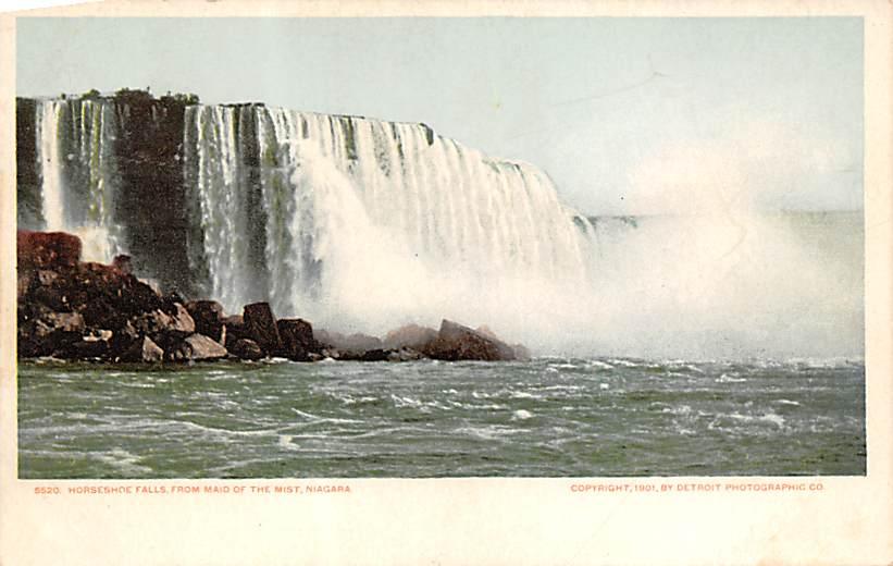 sub056535 - Niagara Falls Post Card
