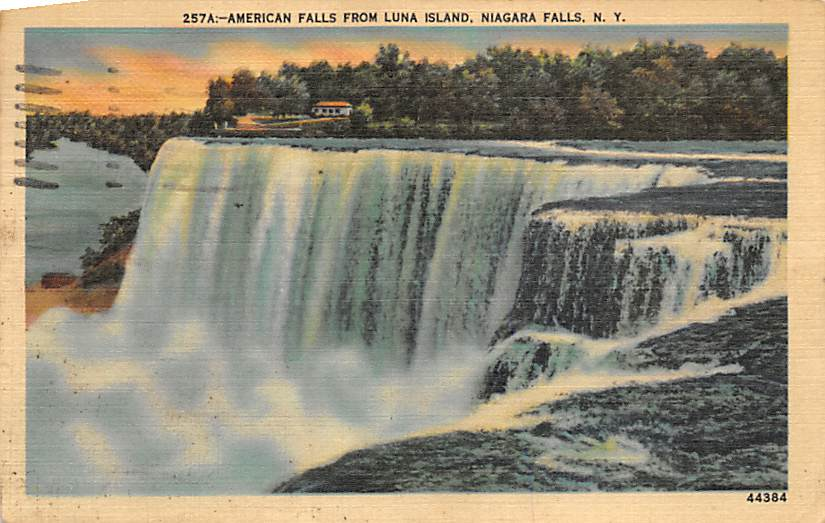sub056537 - Niagara Falls Post Card