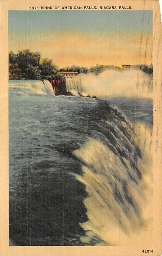 sub056539 - Niagara Falls Post Card