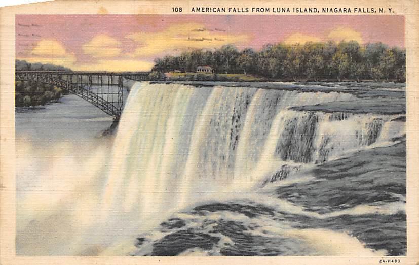 sub056541 - Niagara Falls Post Card