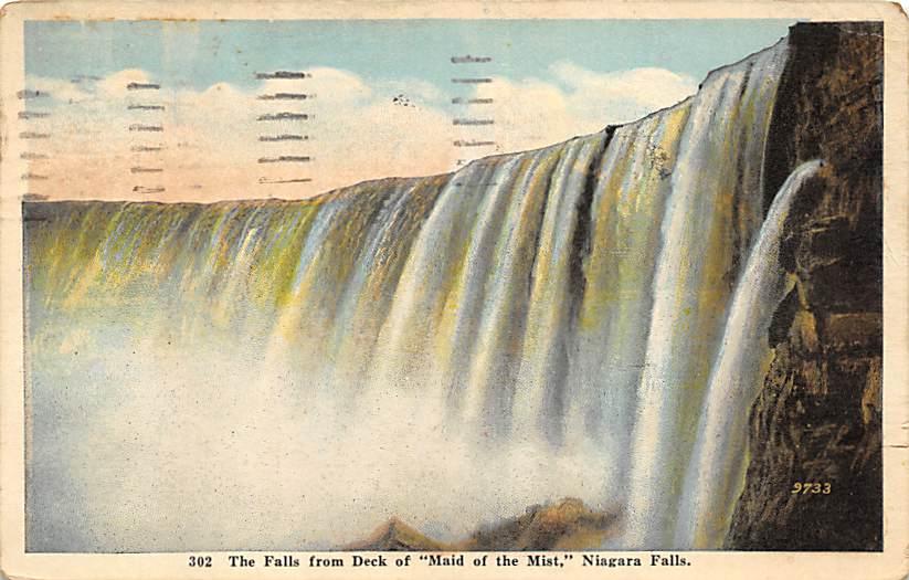 sub056543 - Niagara Falls Post Card