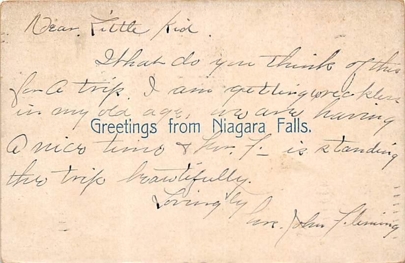 sub056547 - Niagara Falls Post Card