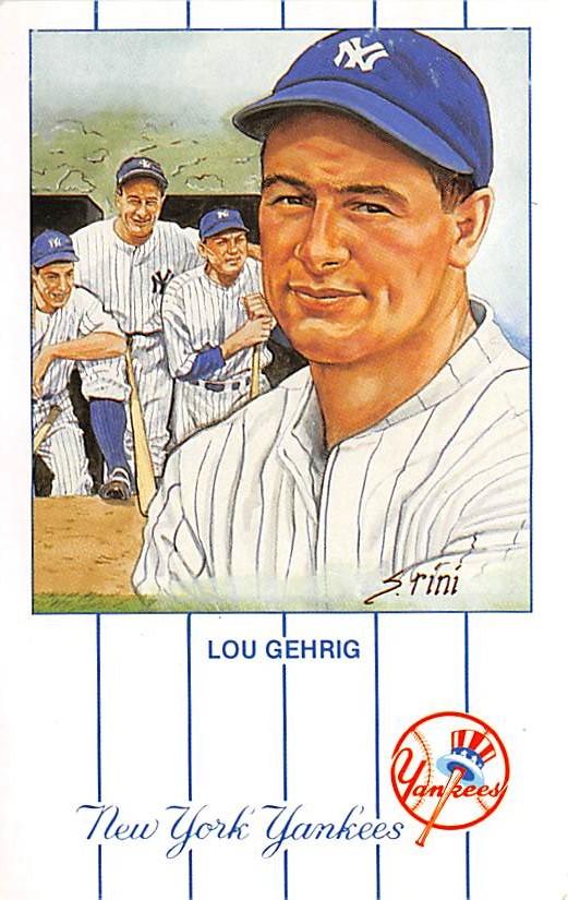sub057589 - Baseball Post Card
