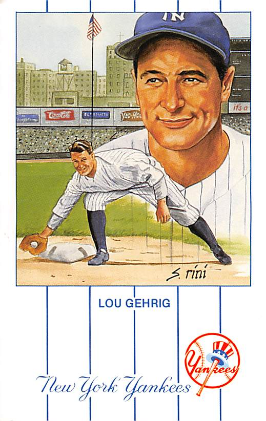 sub057599 - Baseball Post Card