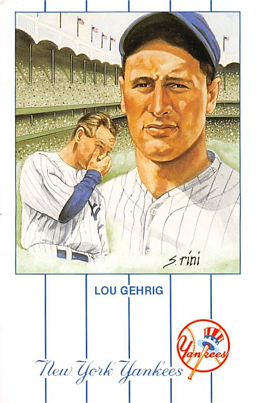 sub057601 - Baseball Post Card