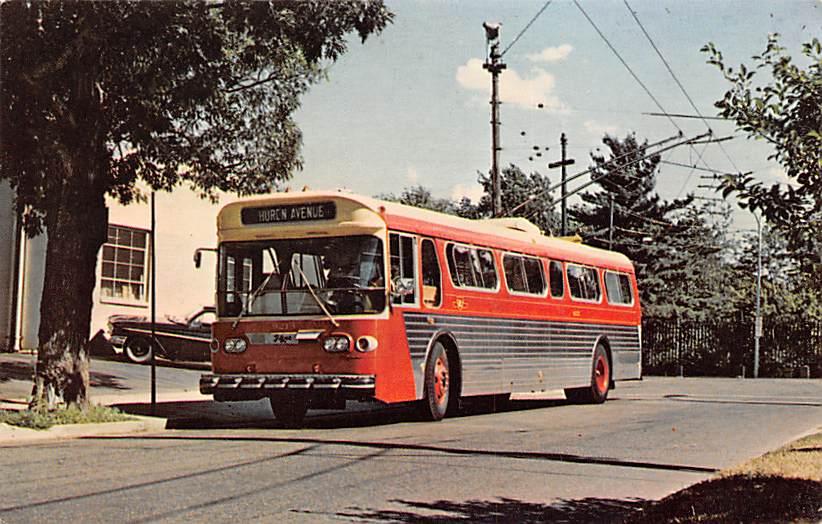 sub058493 - Bus Post Card
