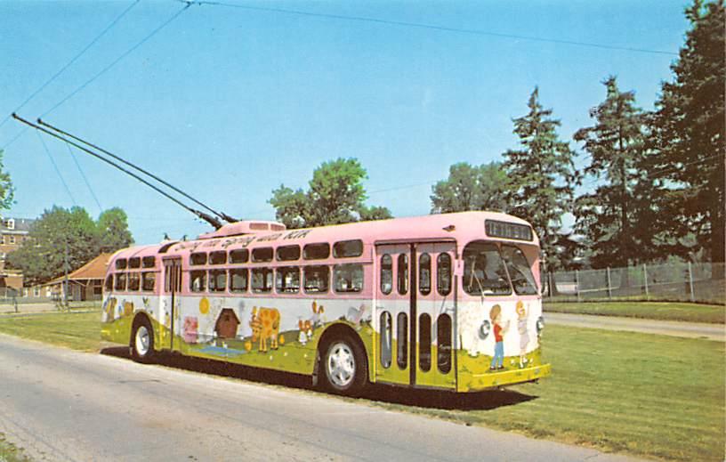 sub059217 - Bus Post Card