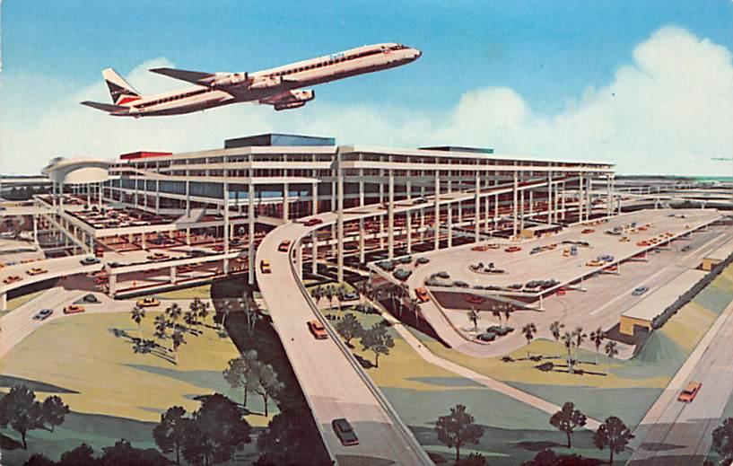 sub059713 - Airplane Post Card