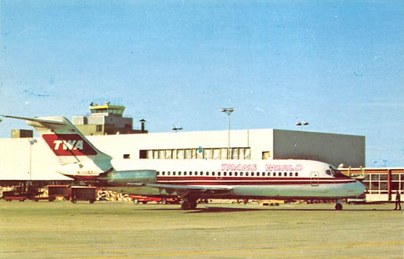 sub059967 - Airplane Post Card