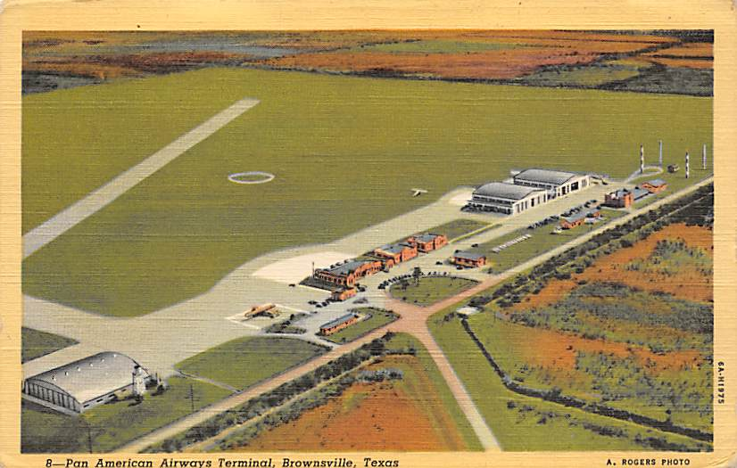 sub062455 - Airport Post Card